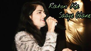 Raaton ke saaye ghane   Lata Mangeshkar   live performance by Gul Saxena