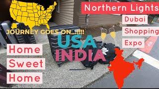 VLOG: 11 | Flight Vlog from USA to INDIA I Kerala | Malayalam Travel VLOG I Journey Goes On