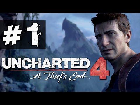 Прохождение Uncharted 4 на русском [60FPS] - часть 1 - Дрейк снова в деле