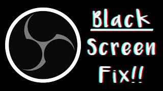 obs black screen fix windows 10 hindi - TH-Clip