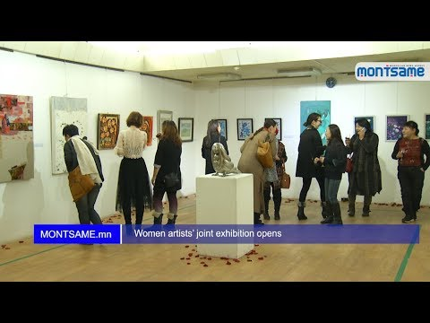 Women artists' joint exhibition opens