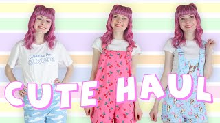 Cute Fashion Haul Ft Black Milk Clothing, ASOS And Lazy Oafs