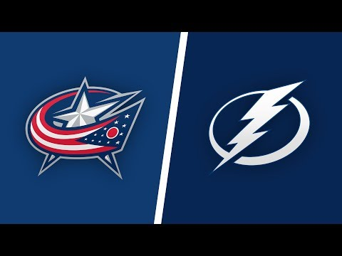 Columbus blue jackets Vs Tampa Bay lightning Live Play By Play And  Reaction