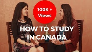 How To Study In Canada - Scholarships And Admission Process In Canada For Indian Students #ChetChat