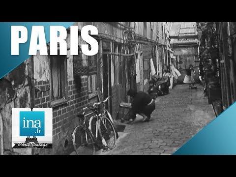 1965 : Visite insolite du 5e arrondissement de Paris   Archive INA
