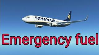 Infinite Flight   Emergency fuel on final   Expert server
