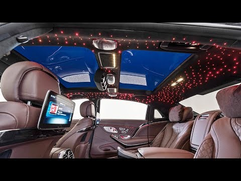 2020 Mercedes Maybach S650 Brabus 900 hp - interior Exterior and Drive