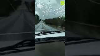 Tempestade e vendaval atinge o estado do Paraná
