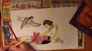 How To Make Egyptian Illustrations From Pharaohs Arrow By George Neeb