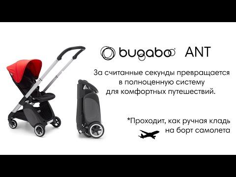 Bugaboo Коляска прогулочная ANT ALU / BLACK-BLACK