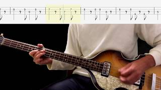 Bass TAB : P.S. I Love You - The Beatles