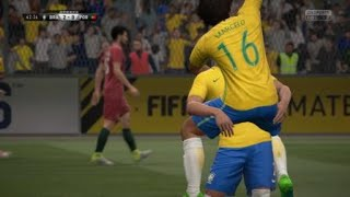 FIFA17ダニエウ・アウベス低弾道シュートゴラッソ
