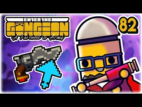 Vorpal Gun Cheese | Part 82 | Let's Play: Enter the Gungeon: Farewell to Arms | PC HD