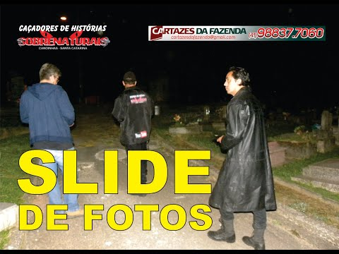 SLIDE DE FOTOS - ENCONTRAMOS O TÚMULO