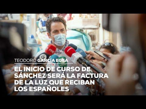 El inicio de curso de Sánchez será la factura de la luz que reciban los españoles