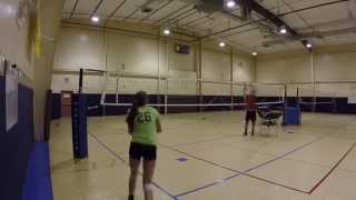 Desirae Reese 2016 Outside Hitter - Volleyball Skills Video