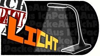 TaoTronics dimmbare LED Schreibtischlampe mit Touchfeld (Unboxing Marathon Part 08)