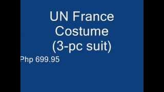 Mr France Kids UN Costume for Sale in Philippines