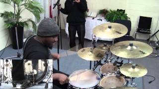 "Drum Day feat, Otis Williams Playing ""My Time"" From Dominiq's- The Glory Town Project"