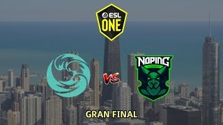 Beastcoast vs NoPing - GRAN FINAL ESL One Los Angeles