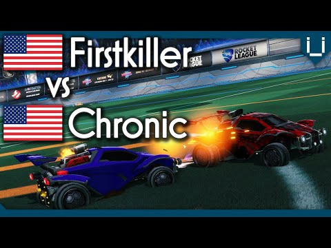 Firstkiller vs Chronic | $130 Rocket League 1v1