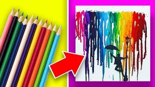 17 Easy Art Projects To Do By Yourself or With Kids