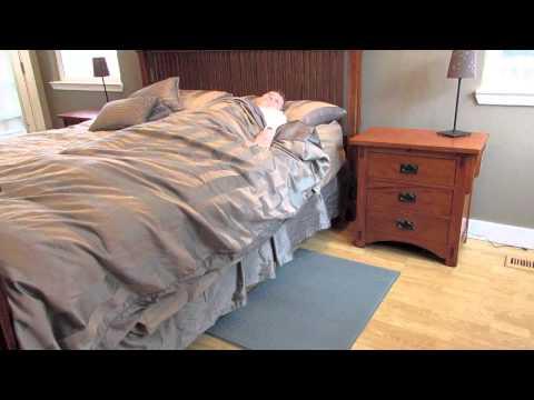 Kerr Medical Wireless/Cordless Floor Mat Alarm System