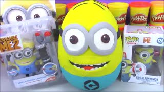Giant Minion Surprise Egg Play Doh Despicable Me Funko