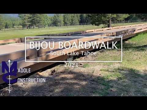 Bijou Boardwalk Helical Piers