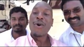 Tyrese gibson Shoutout to Keralites! ഫാസ്റ്റ് ആൻഡ് ഫ്യൂരിയസ് നടൻ റ്റൈരീസ് ഗിബ്സണ്