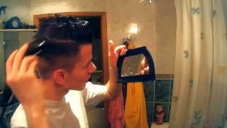 Причесон за 5 минут   David Beckham Hairstyle  Fresh Haircut