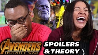AVENGERS Infinity War Spoilers Talk & Avengers 4 Theory Predictions