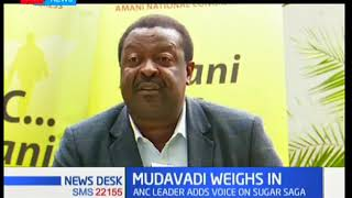 Musalia Mudavadi recommends commission of inquiry to investigate sugar scandal