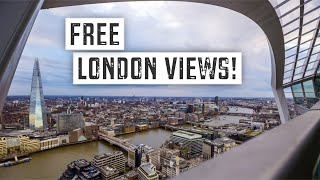 BEST FREE VIEWS of LONDON (8 Great Locations) | Budget Travel Guide