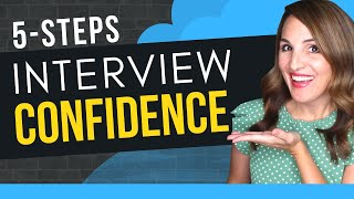How To Present Yourself CONFIDENTLY In A Job Interview (5 STEPS)