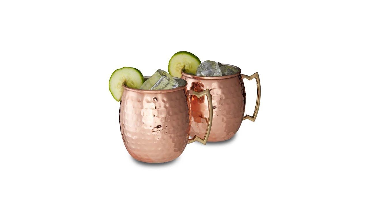 Video von: Moscow Mule Becher 2er Set