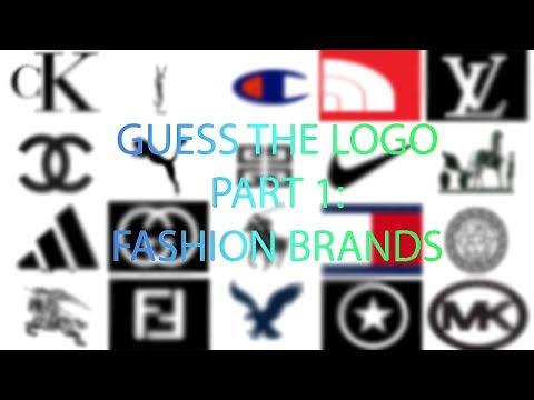 Guess the Logo Quiz Part 1: Fashion Brands