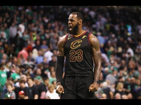 6a58857d9d1 LeBron James  Top Plays From His Two Game 7s  2018 Postseason