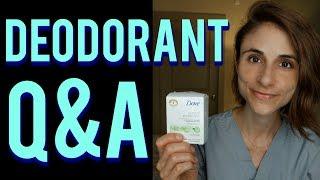 Deodorant Q&A: natural vs aluminum, cancer risk, botox, odor 😓👃
