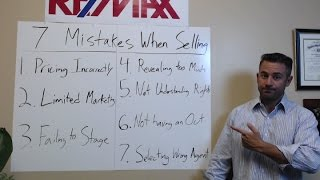How To Avoid 7 Costly Mistakes  When Selling Your Home