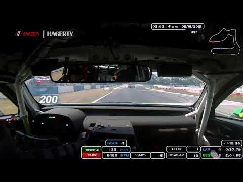 IMSA WTSC第2戦セブリング12時間 ラップ走行オンボード映像
