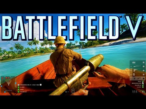 Battlefield 5: Pacific Storm Conquest Gameplay (Battlefield V)