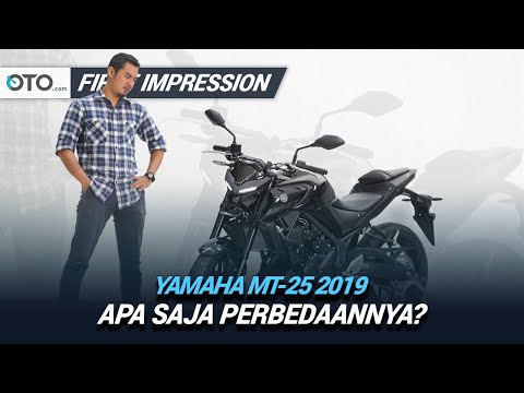 Yamaha MT 25 2019 | First Impression | Apa Saja Perbedaannya? | OTO.com