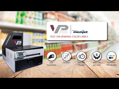 1e345d3b6519c Vp700 color label printer powered by memjet
