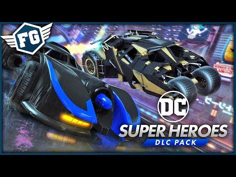 Rocket League - DC Super Heroes DLC