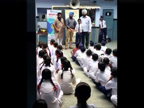 Navyugmodel  school dholewal -dengue & dental awareness