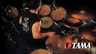 "4ARM - ""Submission For Liberty"" - Michael Vafiotis Drum Cam (TAMA Drums)"