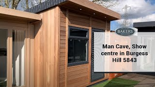 REF 5843 - Man Cave With Iroko Cladding Display Room At Our Show Centre In Burgess Hill