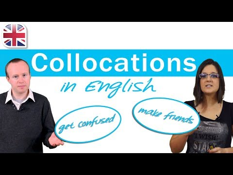Collocations in English - Learn English Vocabulary