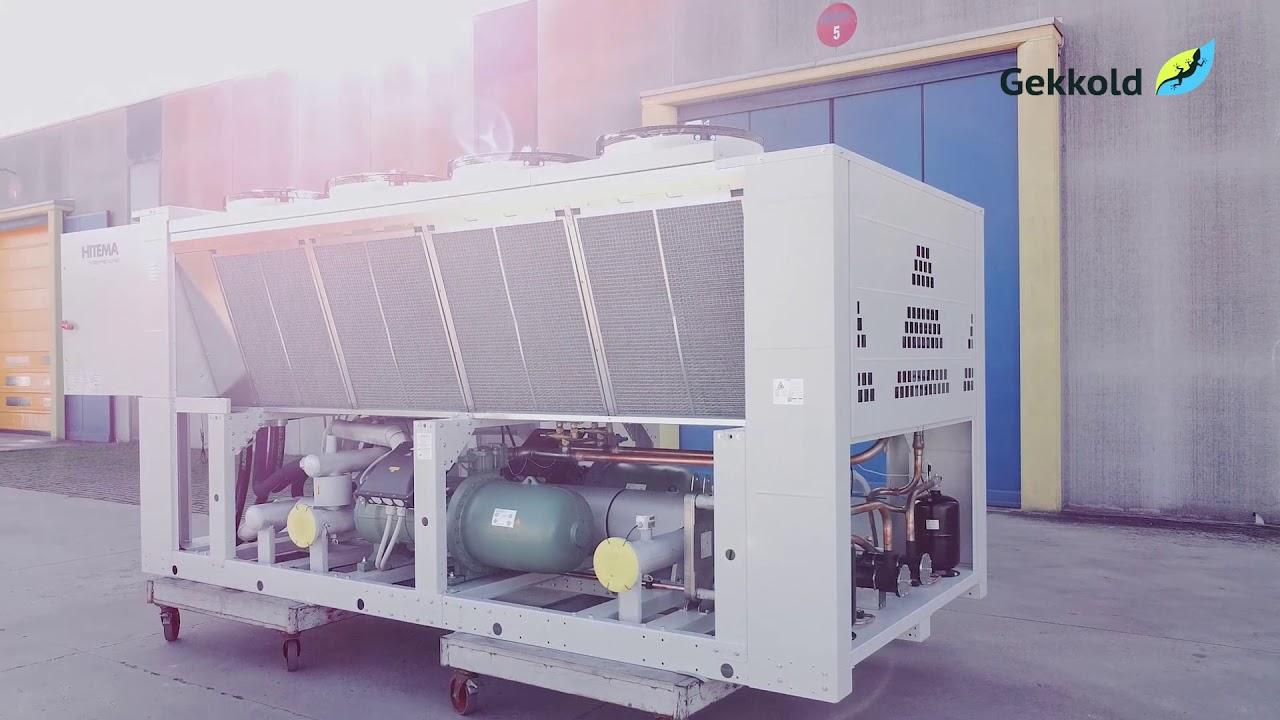 Энергоэффетивный чиллер NOVAF.863F8-HE.M1